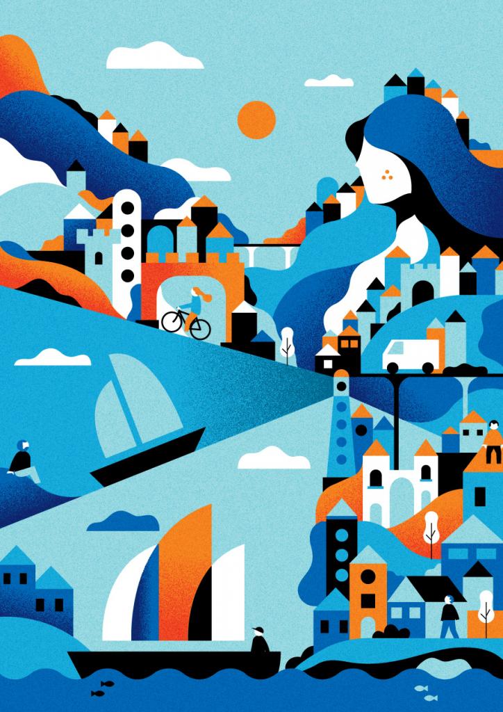 2020 Graphic Design Trends: Futuristically Nostalgic Era